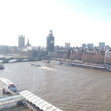 上から見た川とビックベンは良かったです