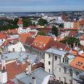 写真:旧市庁舎の塔