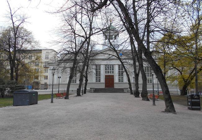 ヘルシンキ大聖堂のミニサイズみたい