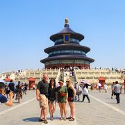 中国 北京 天壇公演(世界遺産)