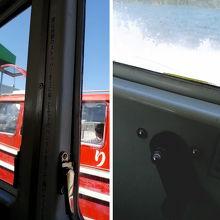 窓を開けることができます。