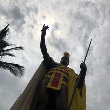 カメハメハ大王像 (カパアウ)