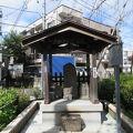 写真:旗の台一丁目石造庚申供養塔