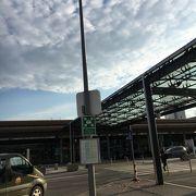 小さな空港です