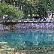 一度は行きたい!コバルトブルーに澄んだ池と木々が生み出した景勝地