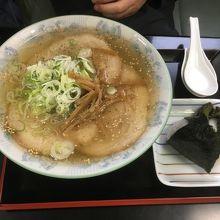 塩特製チャーシューメン