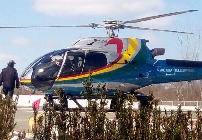 ナイアガラ ヘリコプター