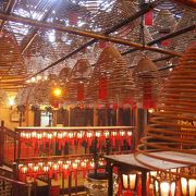 有名な香港の歴史ある寺院
