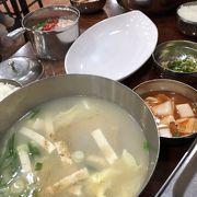 辛さのないタラのスープ