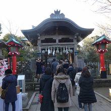 江島神社ツアーの最奥部