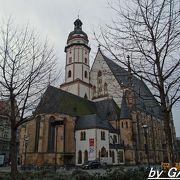 バッハゆかりの聖トーマス教会