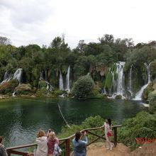 クラビカの滝