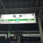 JR東北本線仙台駅
