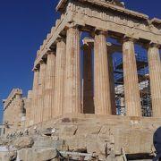 巨大な神殿の遺跡