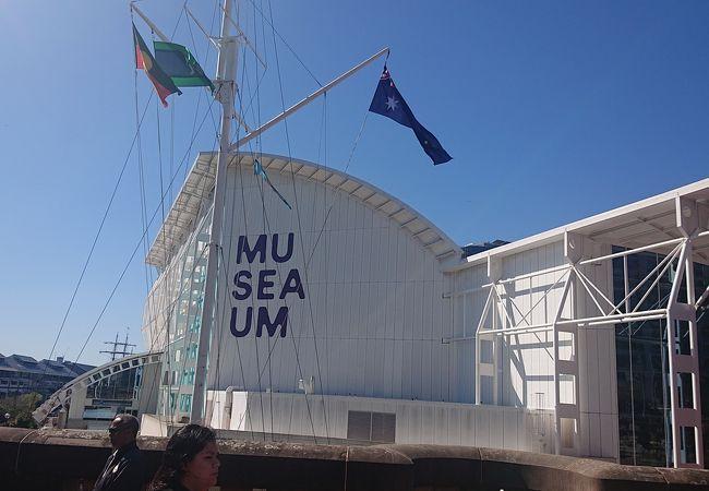 ダーリングハーバー沿いの博物館