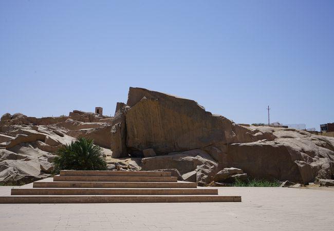 古代エジプトの採石場