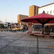大黒さま横の広場