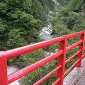写真:奥鐘橋