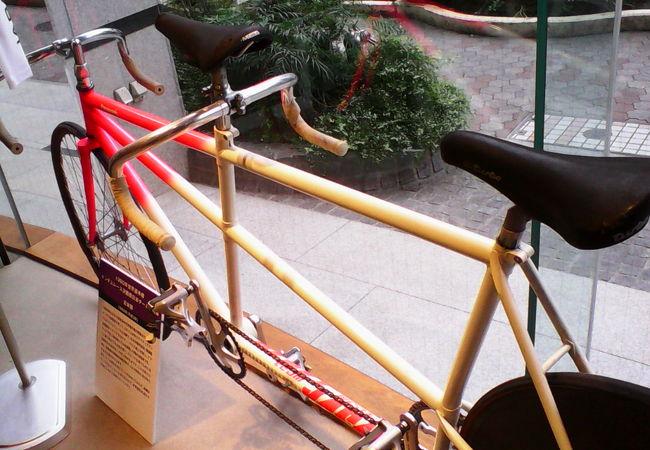 「オリンピックの自転車競技」企画展をやってました