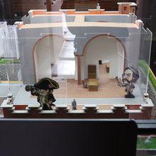お城の模型