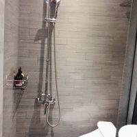 トイレとシャワーは同じスペースです。