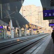 ウイーンからザルツブルグへの鉄道移動