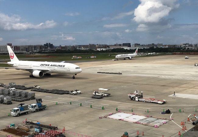 福岡空港 国内線 展望室 送迎デッキ