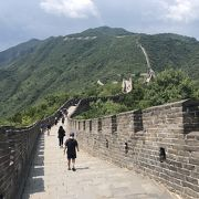 7月の万里の長城