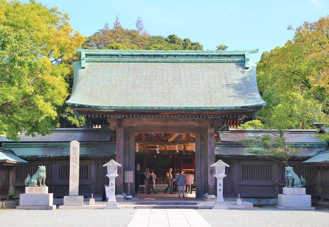 宗像大社(辺津宮)