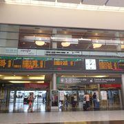 高速鉄道のAVEも発着するマラガで一番大きな駅