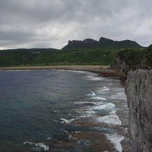 沖縄本島最北端の岬です。