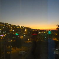 夕方の眺めも良い感じでした。モスクからアザーンが聞こえます。