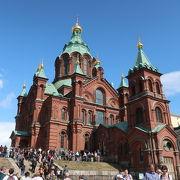 ヘルシンキにあるロシア正教の寺院 ♪