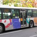 古めのバスでした