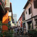 アラブ通りの1本横の道