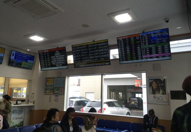 帯広駅バスターミナル