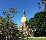 ワット ヤイ チャイ モンコン (チャオプラヤー タイ寺院)