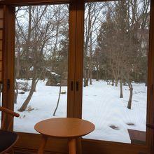 雪景色も素敵です