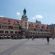 町の中心にあるマルクト広場にある市庁舎が博物館です。