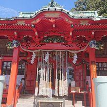 三崎港近くにある神社