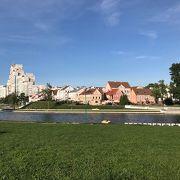 昔の旧市街を再現