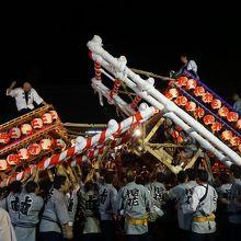 \飯坂けんか祭り(飯坂八幡神社の祭り)