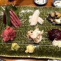 写真:魚がし料理佃喜知