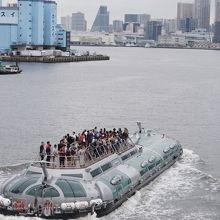 水上バス(TOKYOCRUISE)ヒミコライン