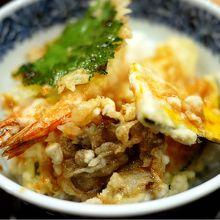 蕎麦屋の天丼@虎ノ門