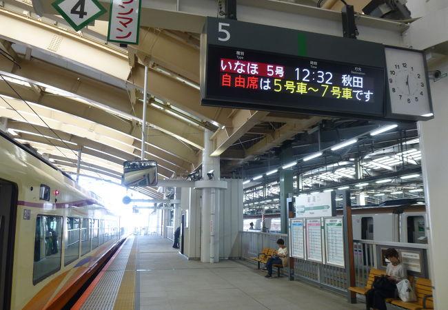 ここまでは新幹線があるが・・・