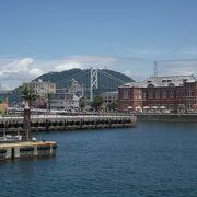門司港レトロ地区の観光客向け施設