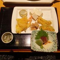 刺身も天ぷらも食べ放題