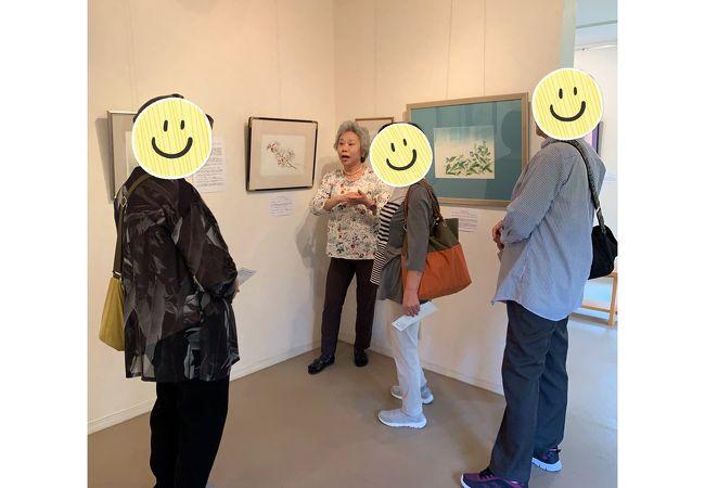 高橋京子 花の絵美術館