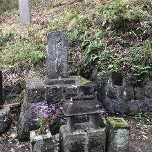 飯沼貞雄の墓
